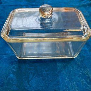 Vintage Glasbake 805 dish with lid